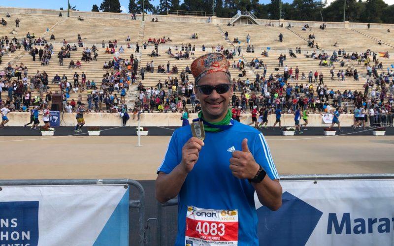 Das Original von Marathon nach Athen gefinisht 11.11.2018