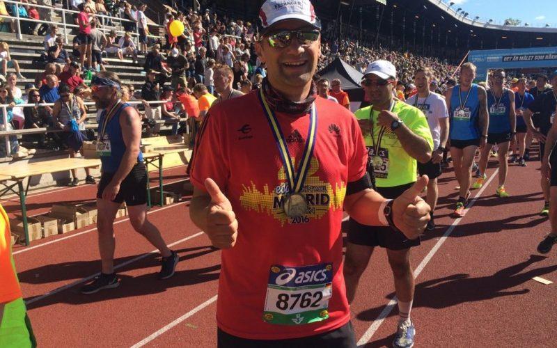 Marathon Stockholm 04.06.2016